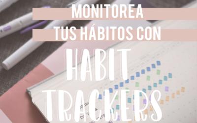 Monitorea tus hábitos con Habit trackers