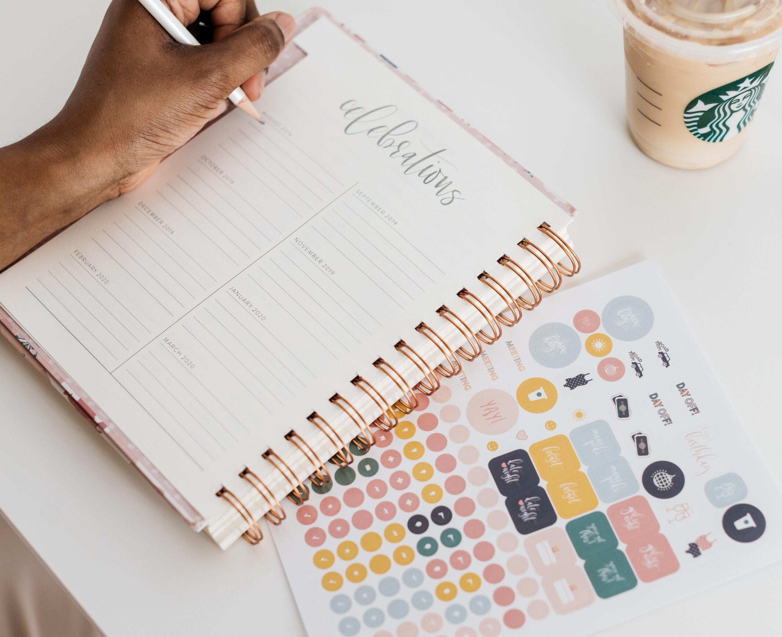 ¿Cómo usar una agenda y sacarle el mejor provecho?